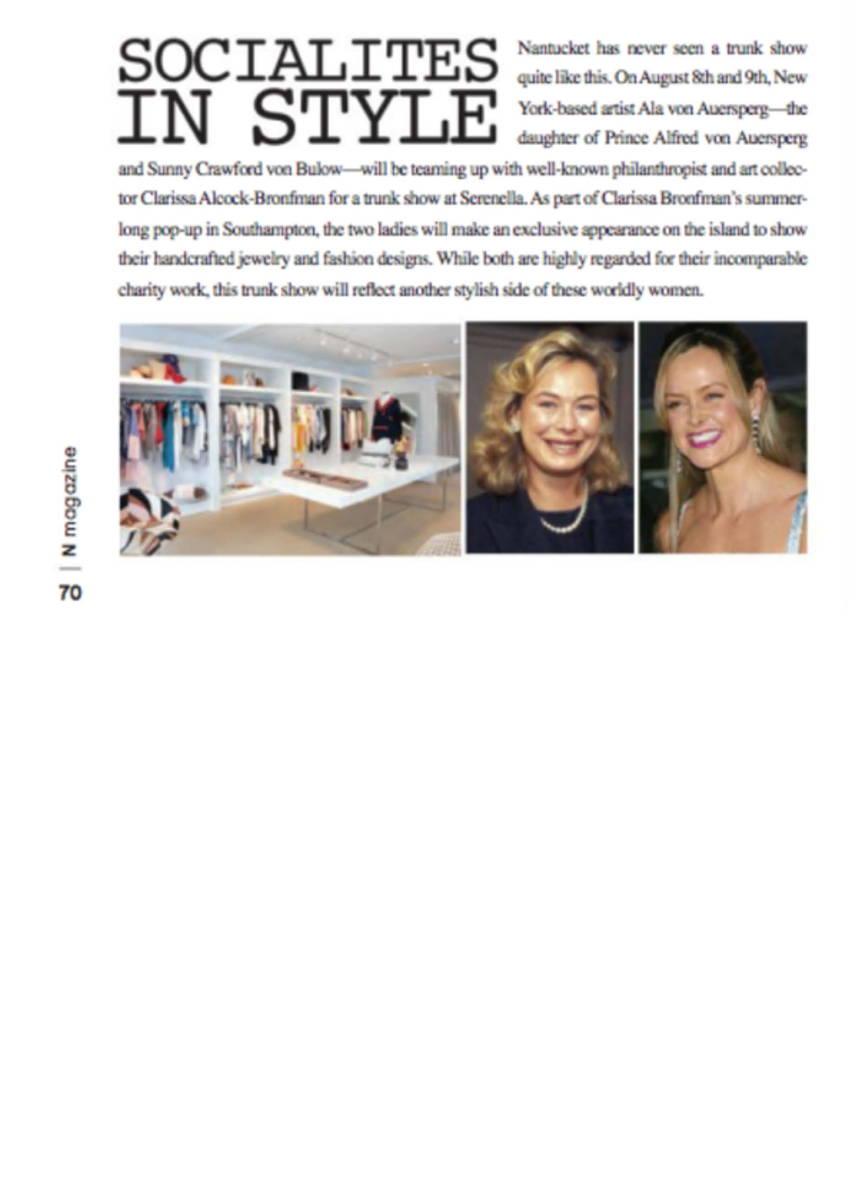 Nantuckit Magazine August 2017 inside page 1