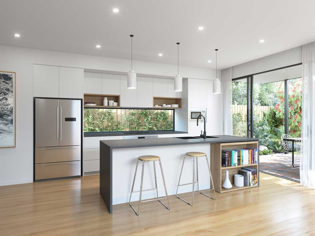 Sydney Kitchens by The Blue Spaces