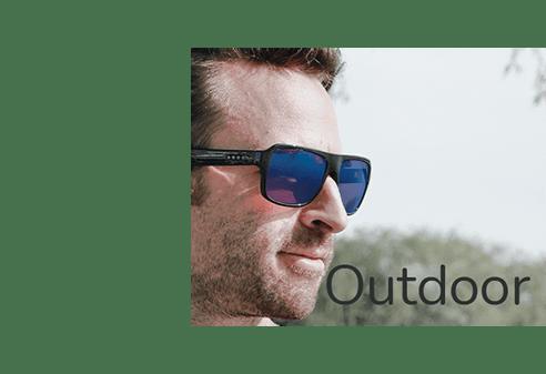 Outdoor Colour Blind lenses