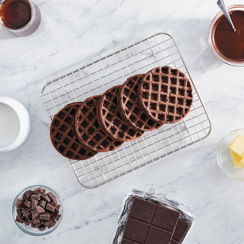 Chocolate Mini Waffles