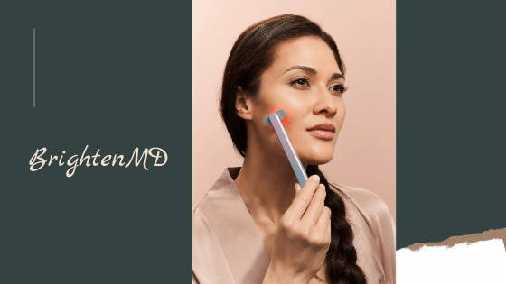 brightenmd used by woman
