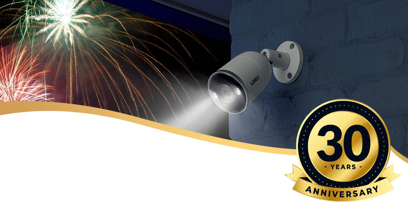 About Lorex Technology 30th Anniversary Banner