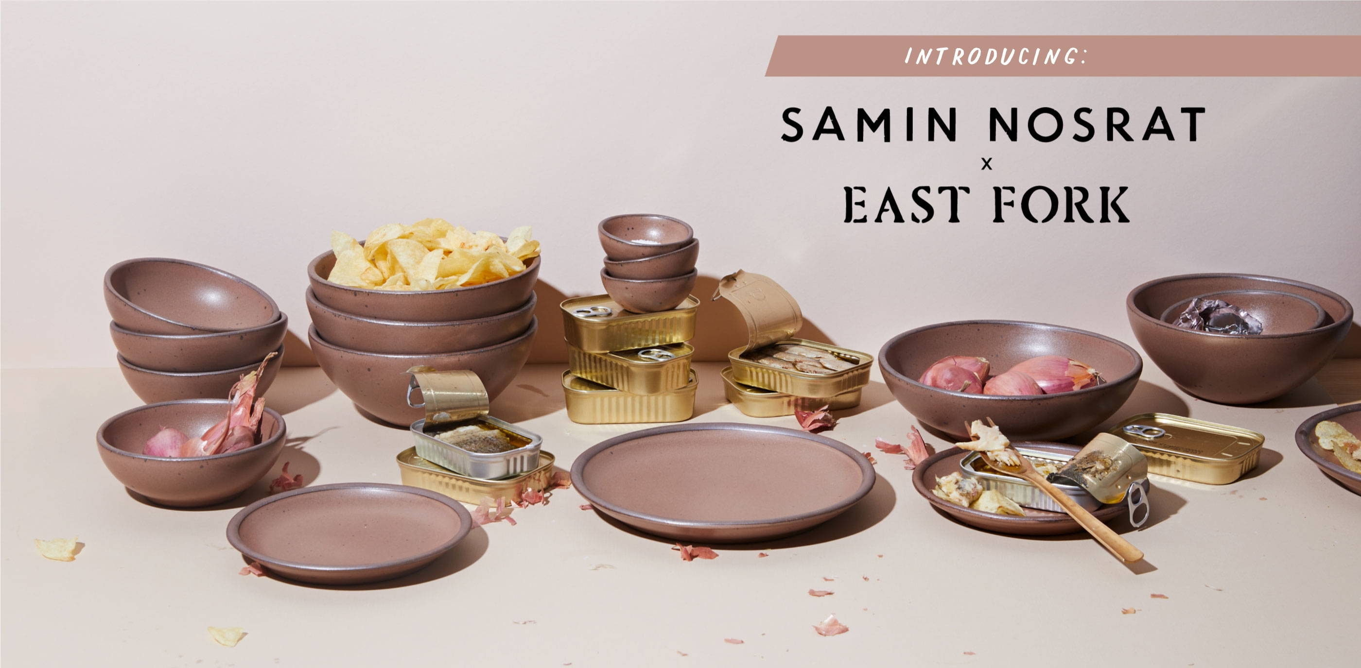 Introducing...a special collaboration from East Fork Pottery with Samin Nosrat