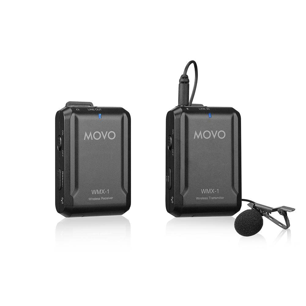 Movo WMX-1 2.4GHz Wireless Lavalier Microphone System