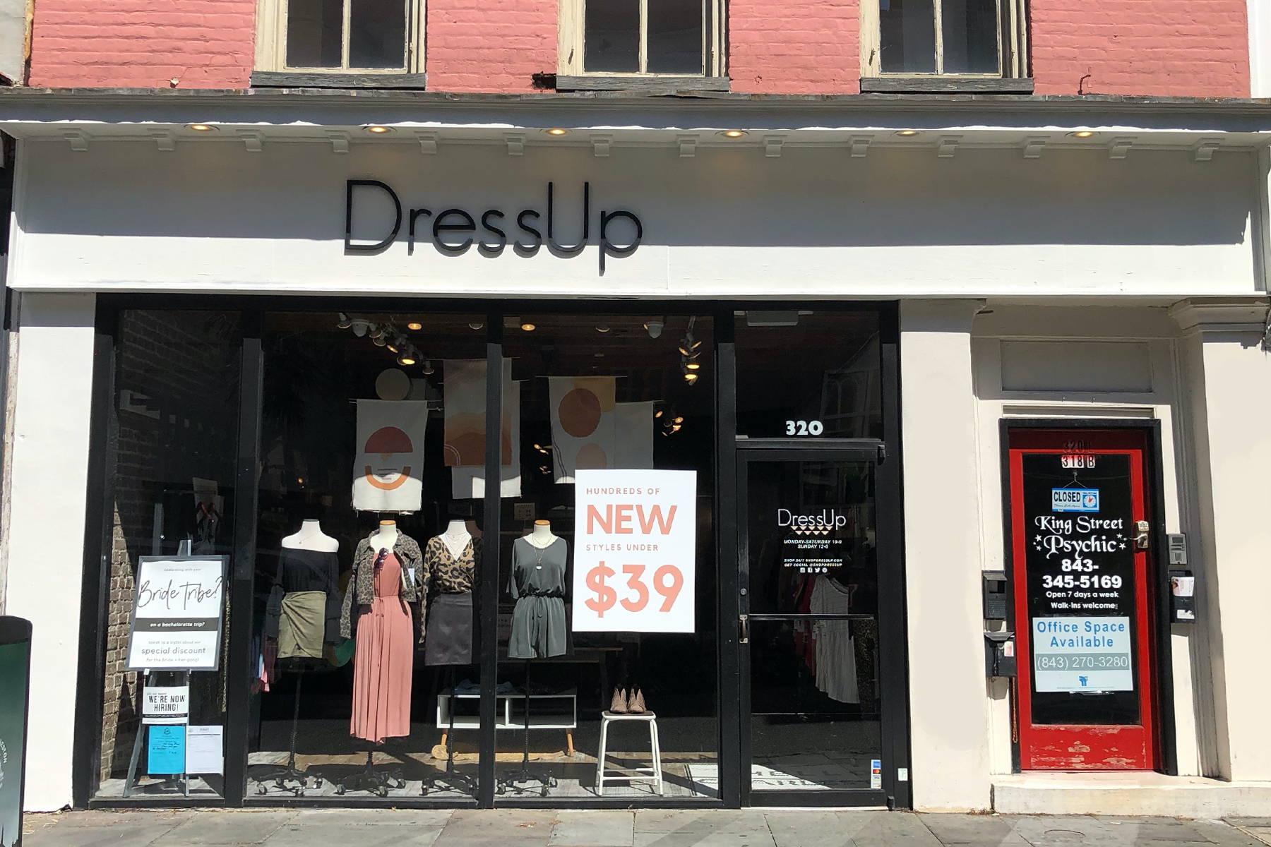 Dress Up Charleston storefront