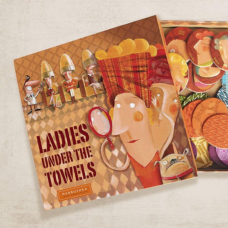 Ladies under the Towels