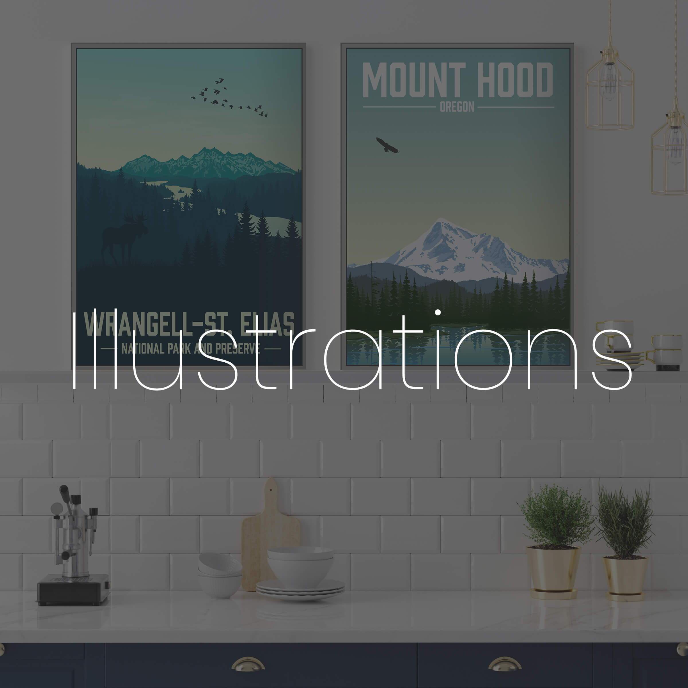 Huge varieties of prints to make your house a home!
