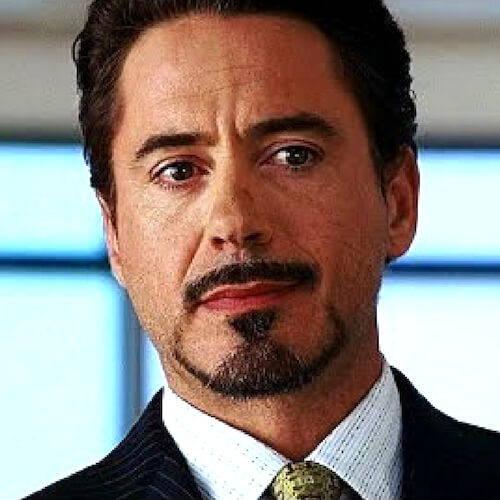 Tony Stark's Goatee Beard