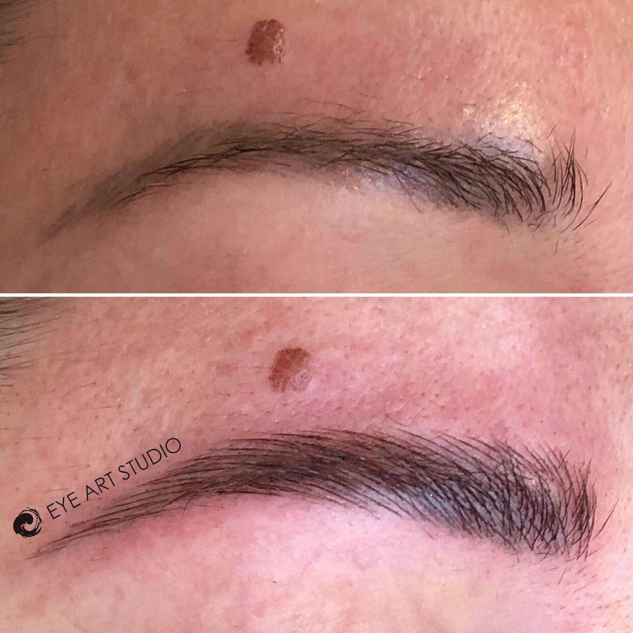 Eyebrow Microblading Tattoo Correction Melbourne | Eyebrow Tattoo ...