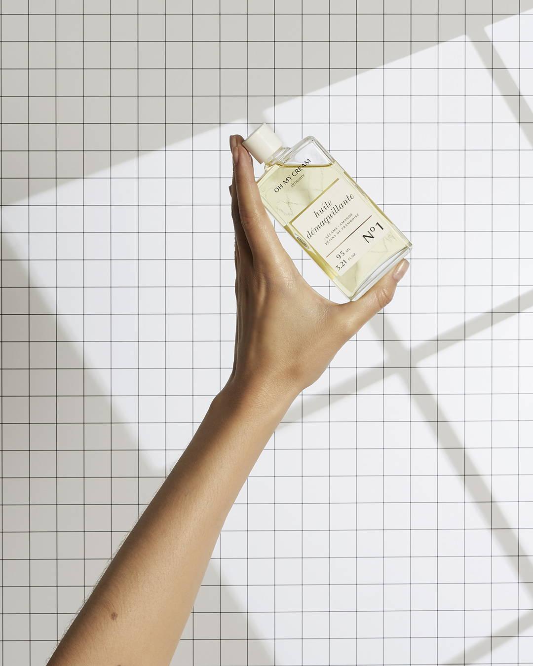 Huile Démaquillante Oh My Cream Skincare pour la première phase du double nettoyage