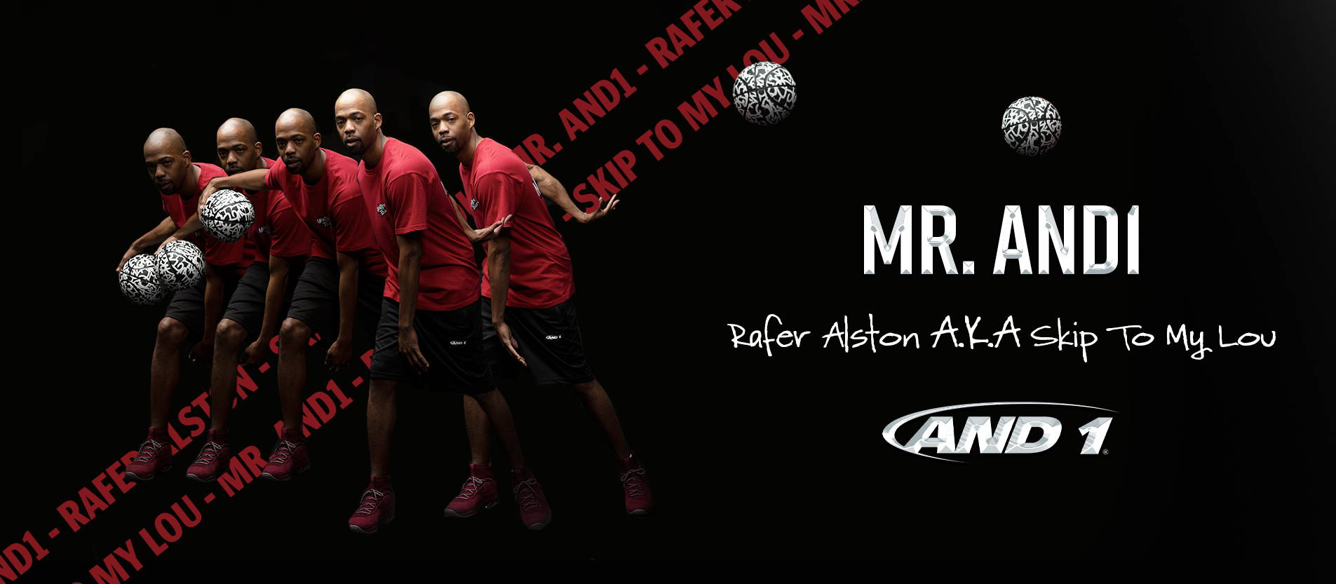 Mr. AND1, Rafer Alston AKA . Skip To My Lou. Shop the new clothing collection