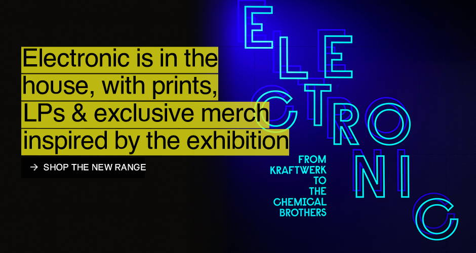 Electronic: From Kraftwerk to the Chemical Brothers Exhibition Range