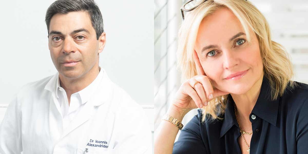 Dr. Yannis Alexandrides and Joanna Czech