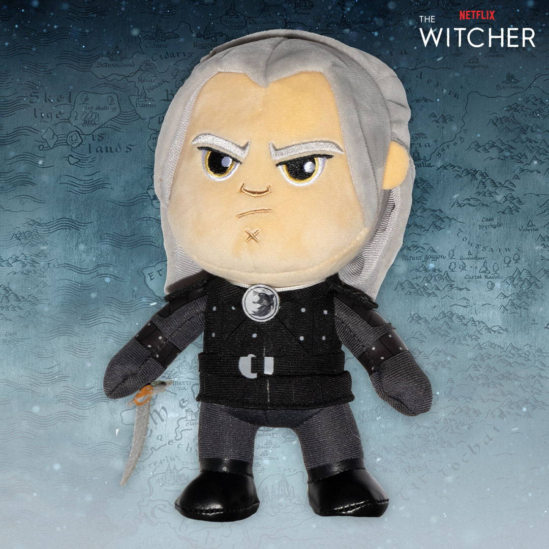 Netflix: The Witcher M8Z Geralt Plush