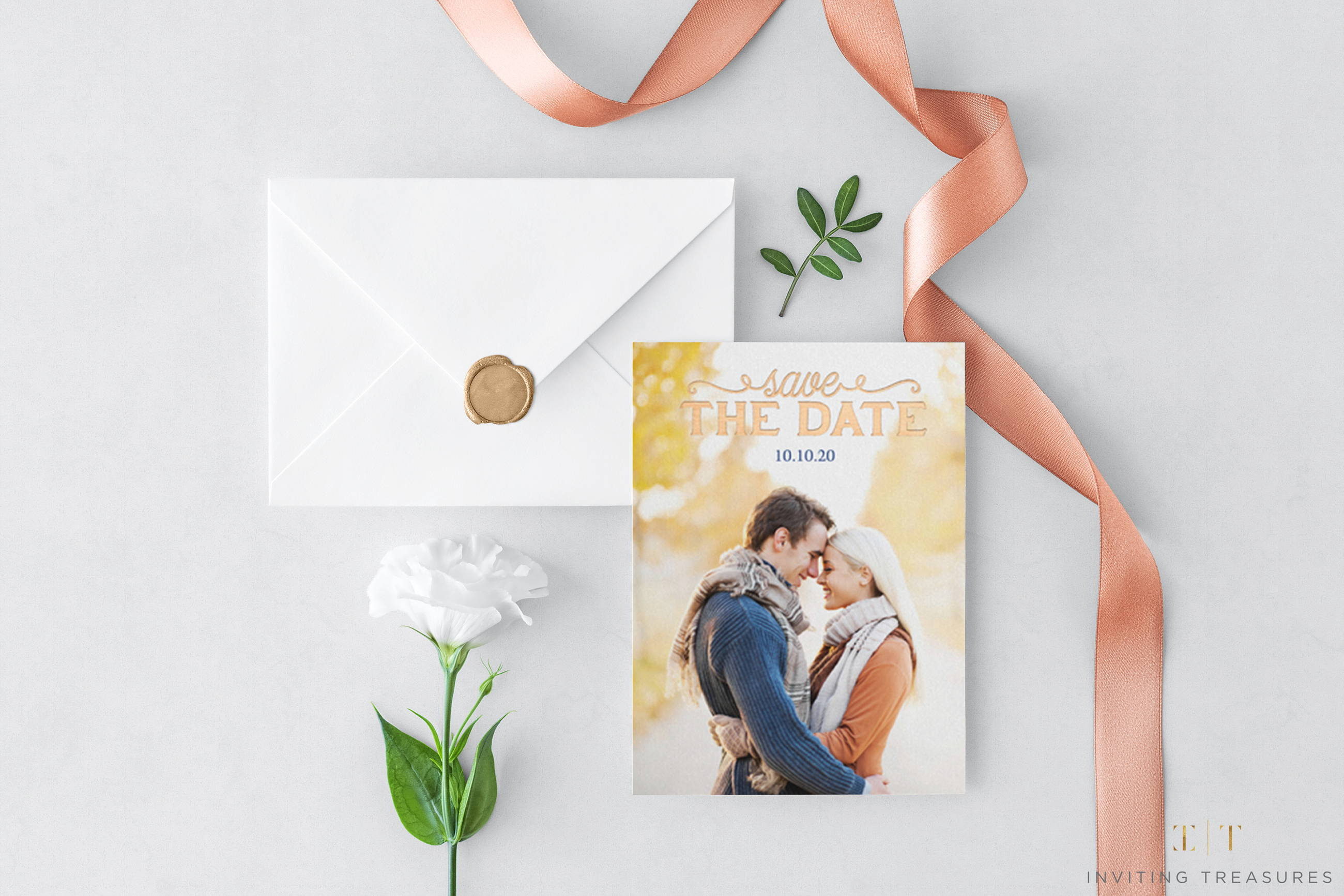 save the date, save the dates, custom save the dates, premium save the dates, double thick save the dates, foil printing on save the dates