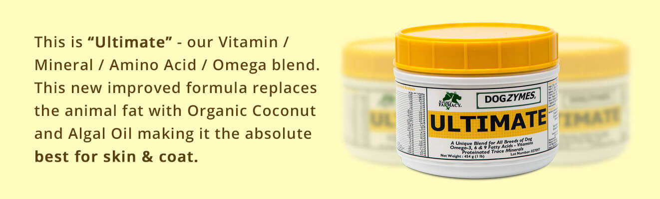 Ultimate - Vitamin, Mineral, Amino Acid best for skin and coat