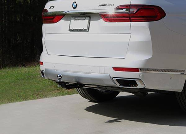 Stealth Hitch Tow Hitch Installed on 2019 BMW X7 (G07)