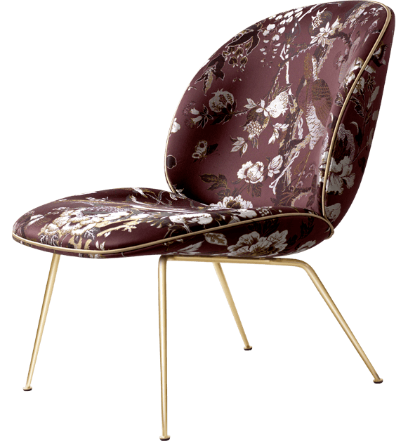 GUBI Beetle Print Lounge Chair