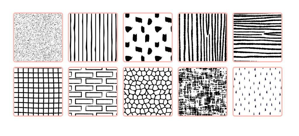 Dry Transfer textures from TransferTone for Adobe Illustrator