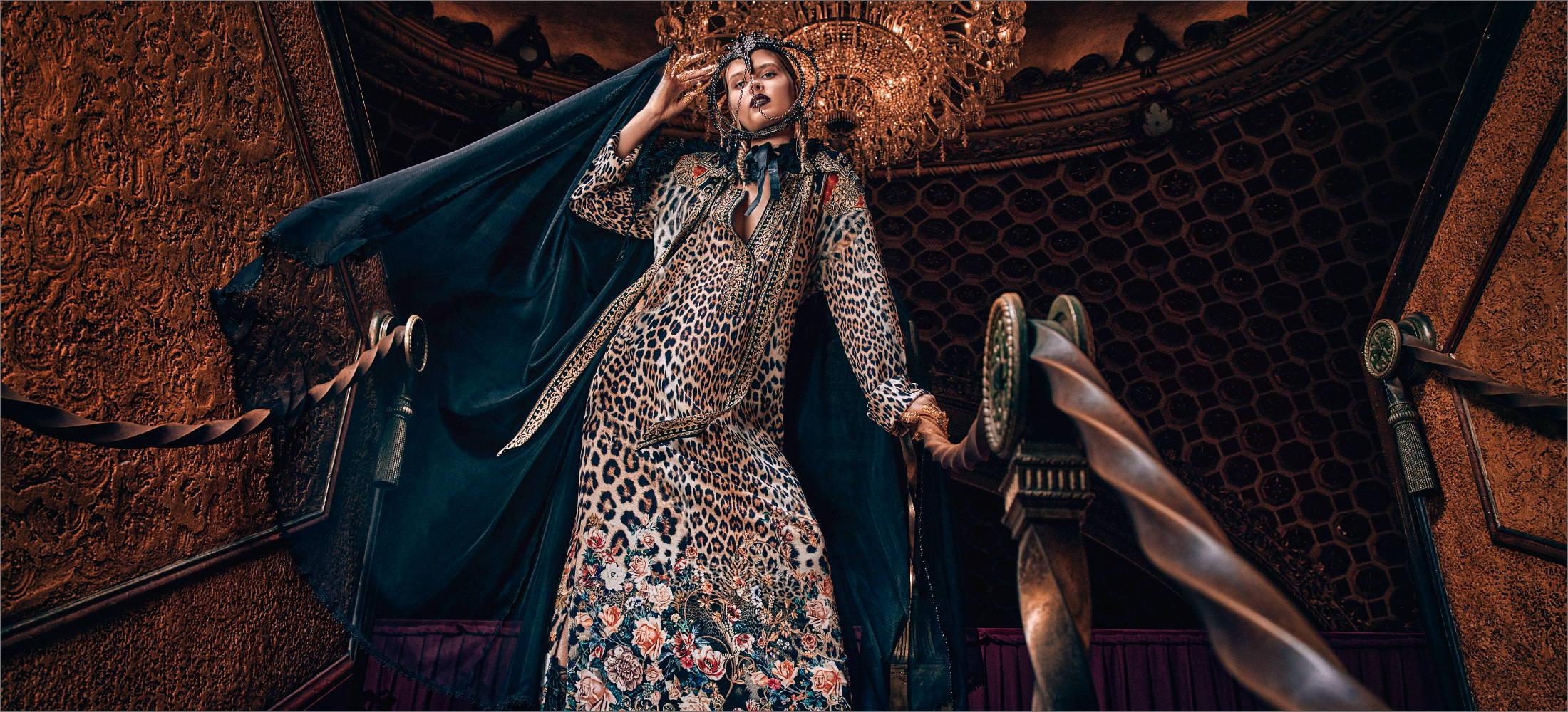 CAMILLA New Arrivals, camilla leopard print dress