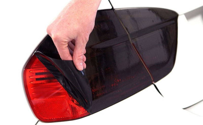 Charcoal Lamin-x tail light tint film covers