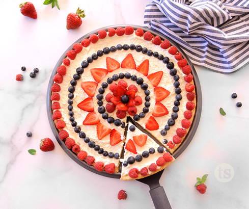 Absolutely Almond Mai Tai Fruit Pizza