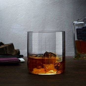 Finesse Grid Whiskey Glasses