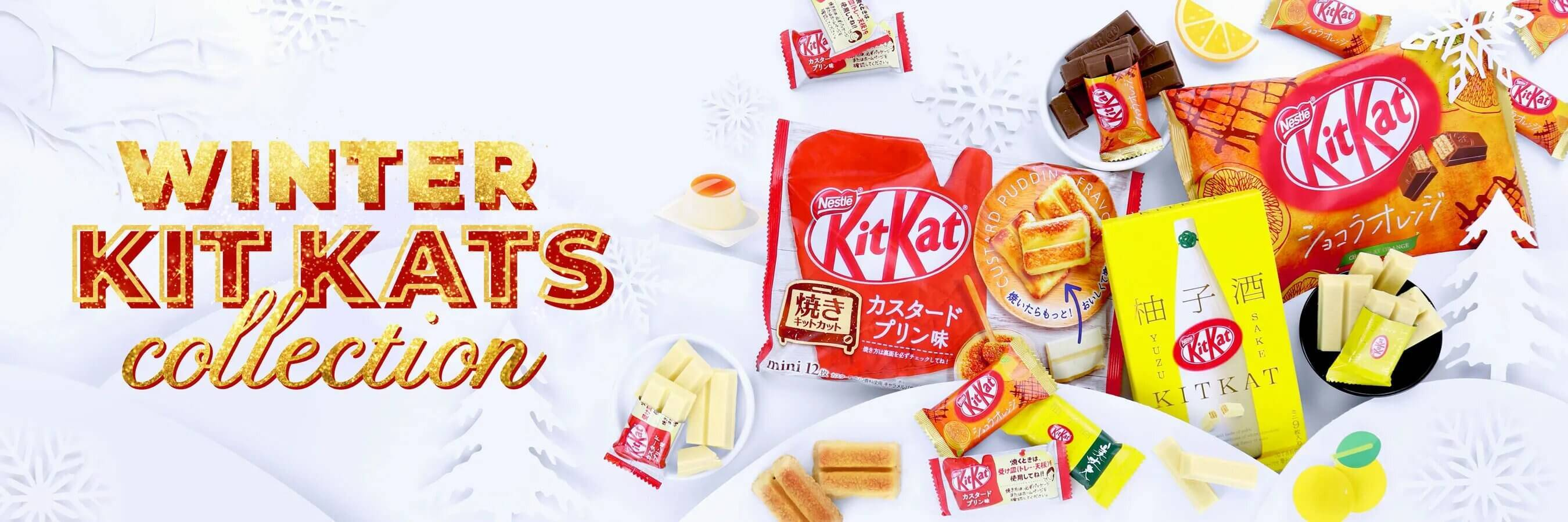winter kit-kat holiday