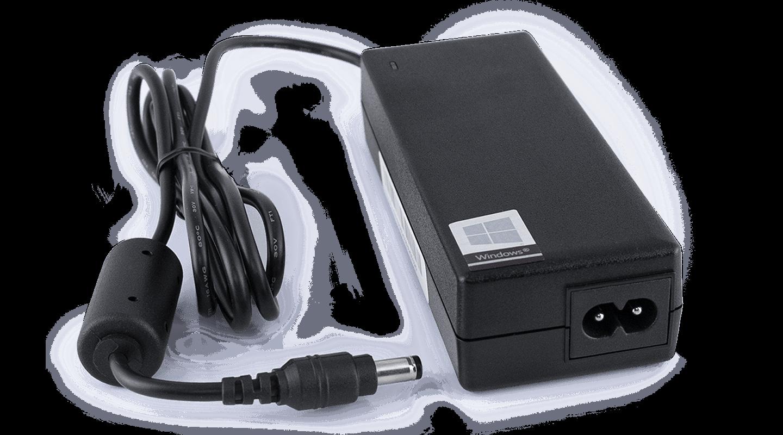 Lader og strømledning til Tobii Dynavox I-Series-enheten