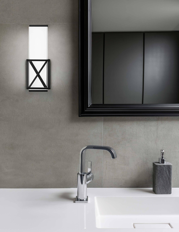 Kuzco X-Caliber Collection Wall LIghts for the Bathroom