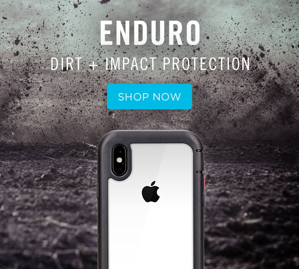 enduro dirt and impact protection