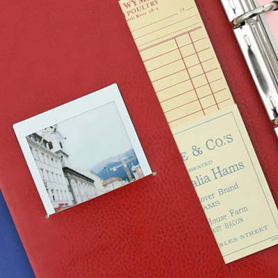 Pocket - Second Mansion Standard A6 6-ring dateless weekly diary