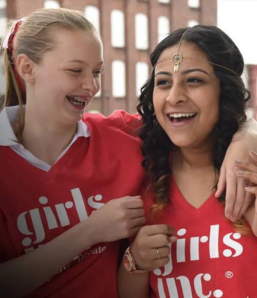 Girls Inc. participants