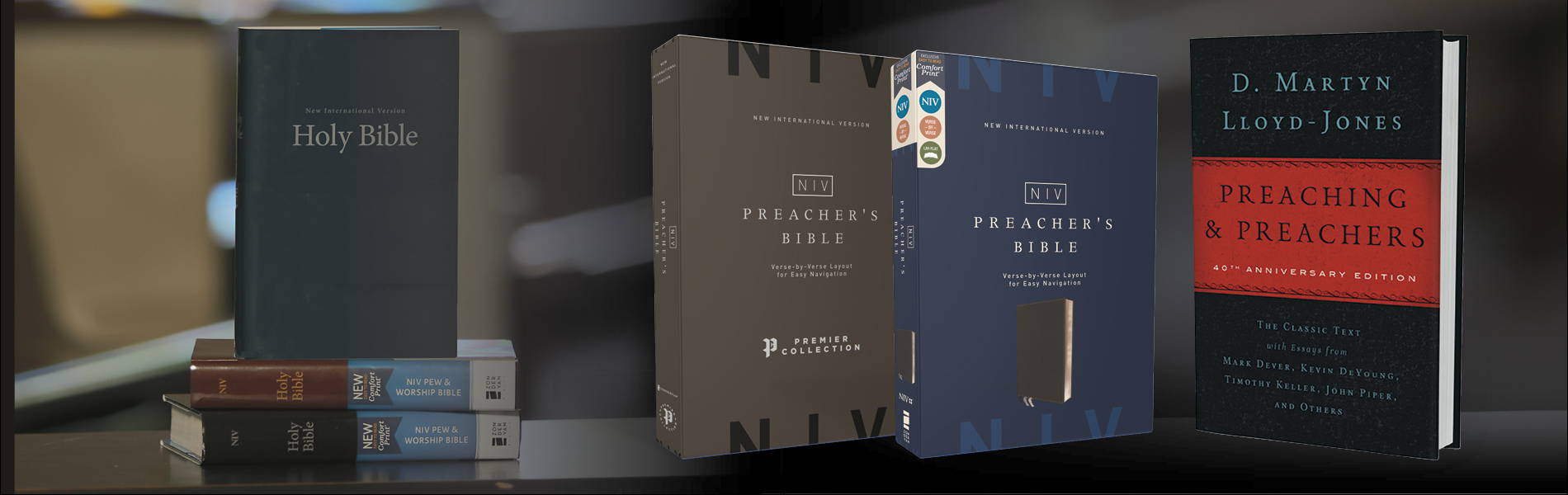 Pew Bibles & Preaching Resources
