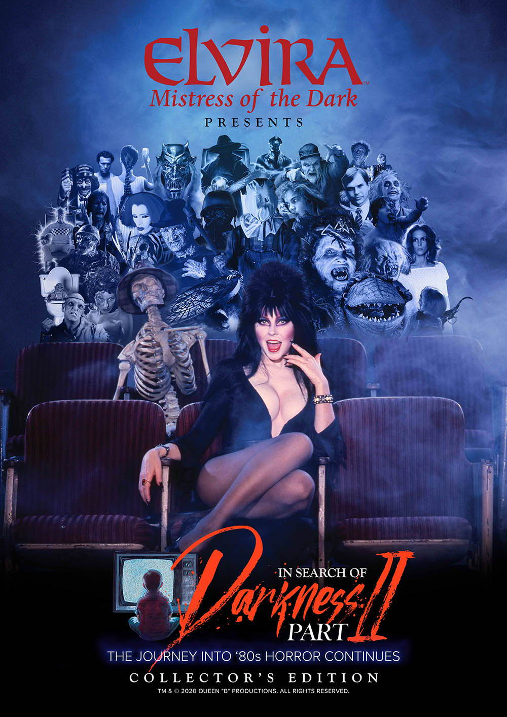 In Search of Darkness: Part II, Elvira poster