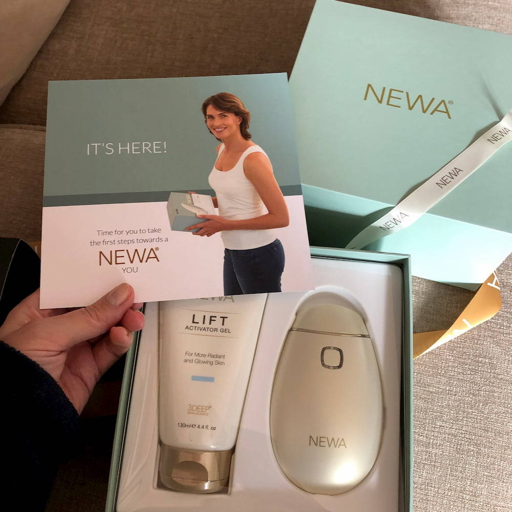 Inside the NEWA gift box