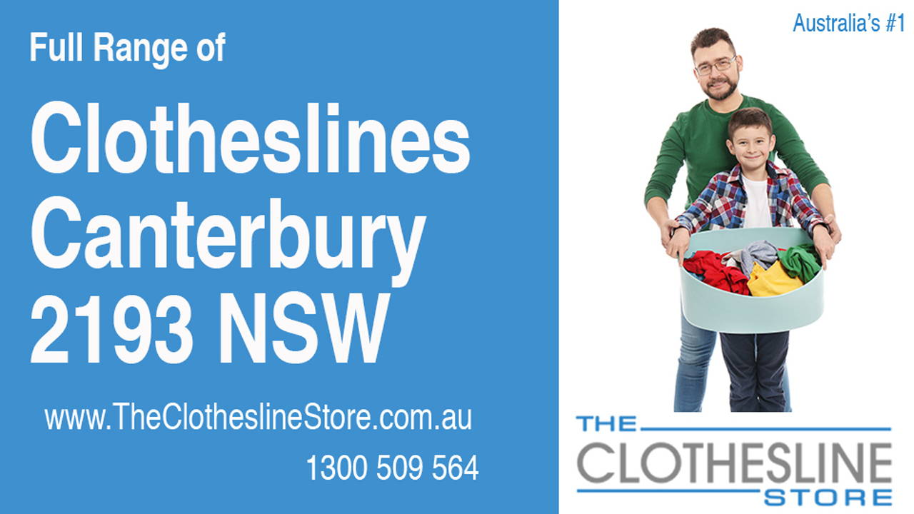 Clotheslines Canterbury 2193 NSW