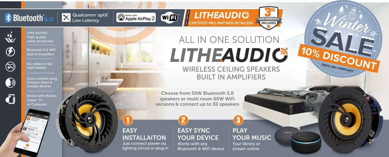 Lithe Audio 10% Discount at Audio Volt