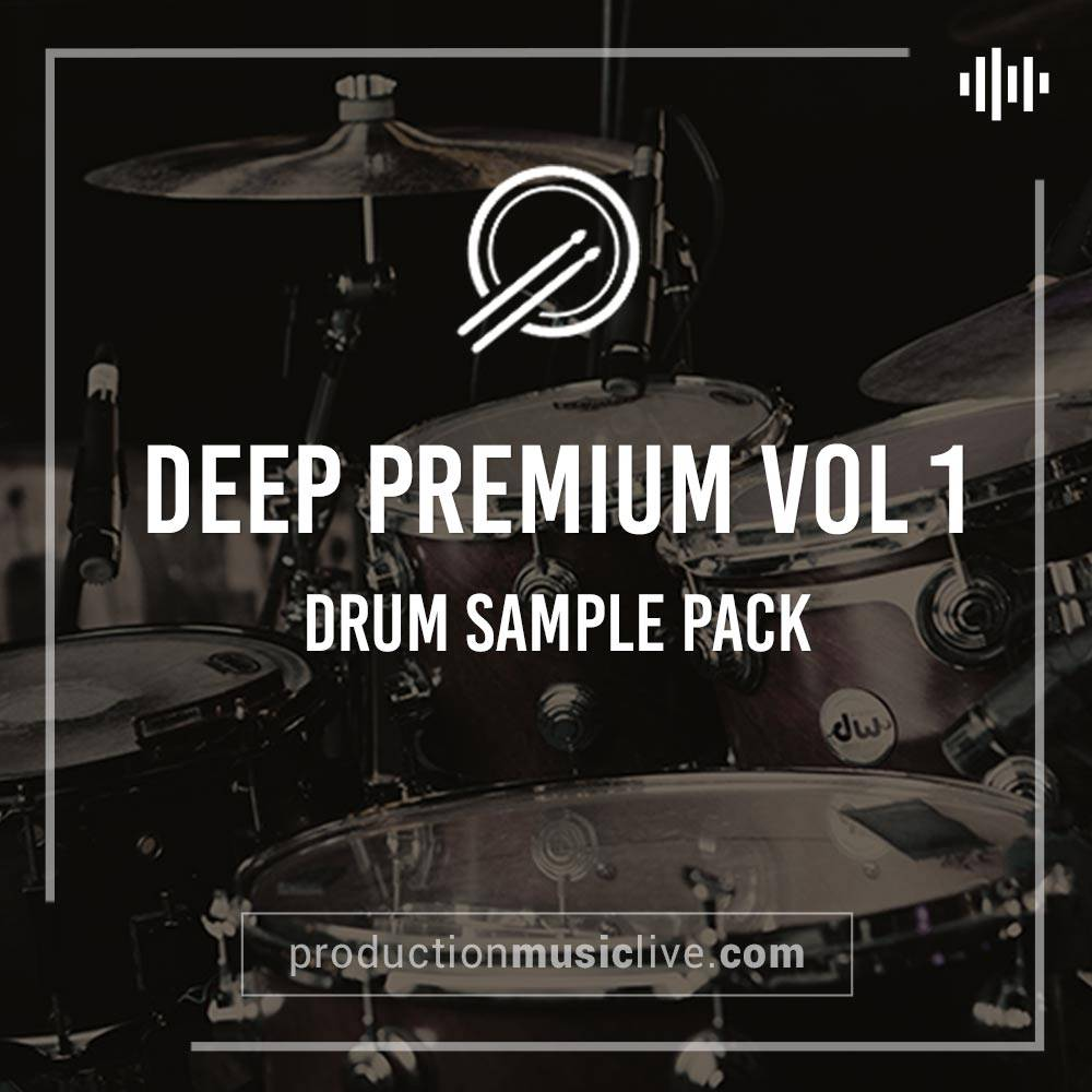 Deep Premium Vol1 Drum Samples w Ableton Project | PML