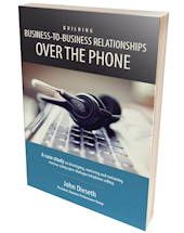 HRDQ book image building B2B relationships over the phone