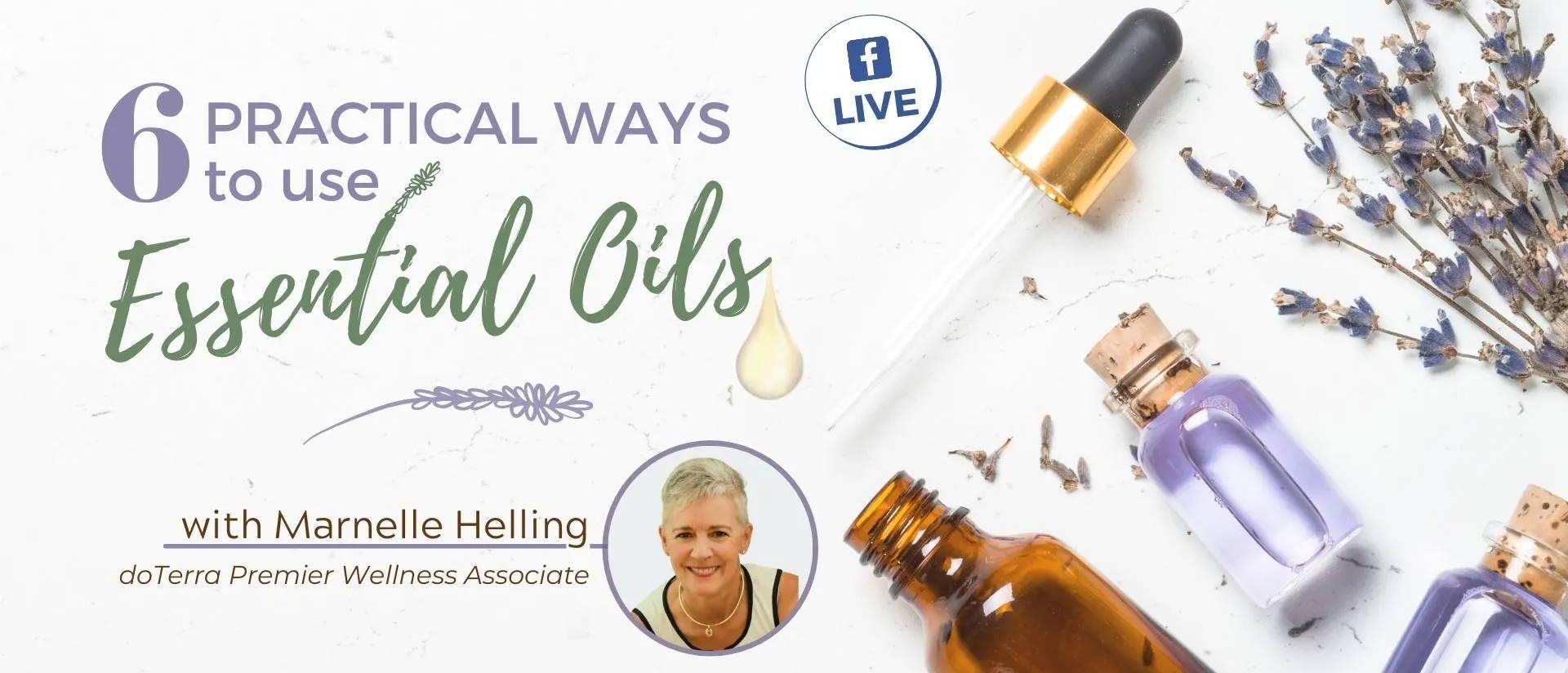ESSENTIAL OILS FACEBOOK LIVE
