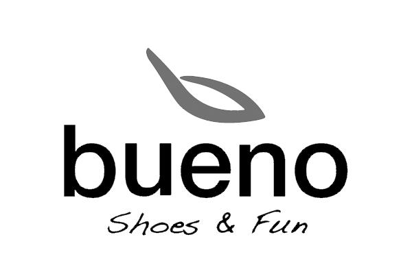 Bueno shoes logo at good's kilkenny