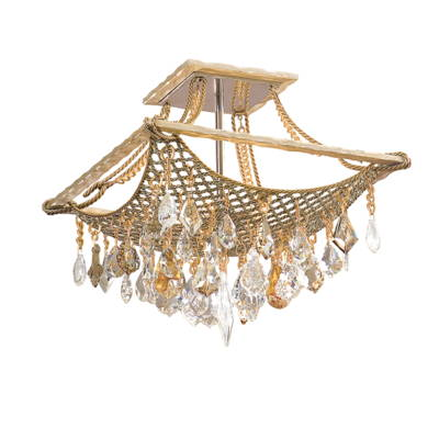 Flush Mount lighting  - Corbett Designer Crystal Lighting