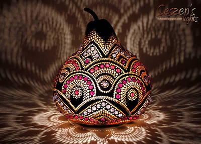 Gourd art by Seszen's Lights