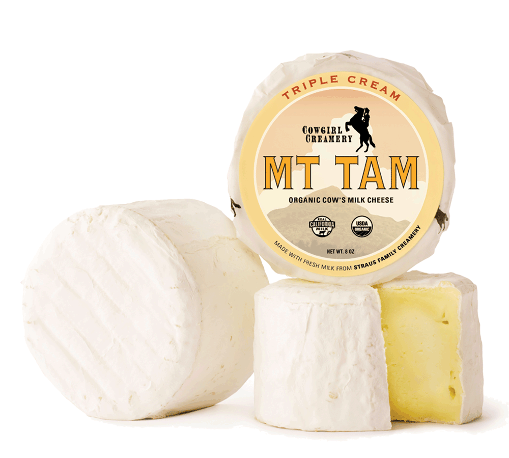 Cowgirl Creamery Mt Tam Triple Cream Cheese