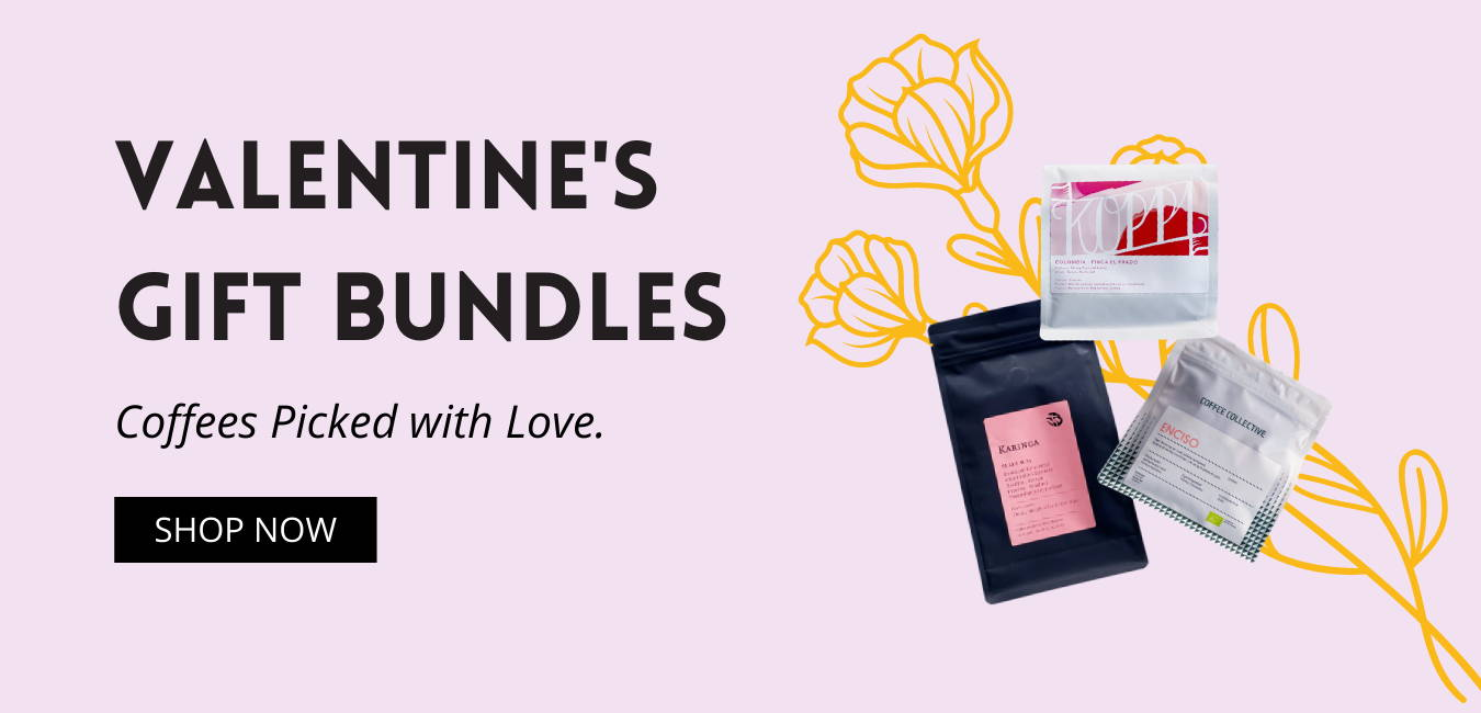 Valentines Gifts Coffee Bundles Banner