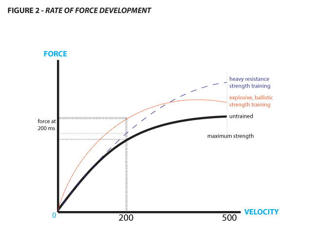 rate of force development graph