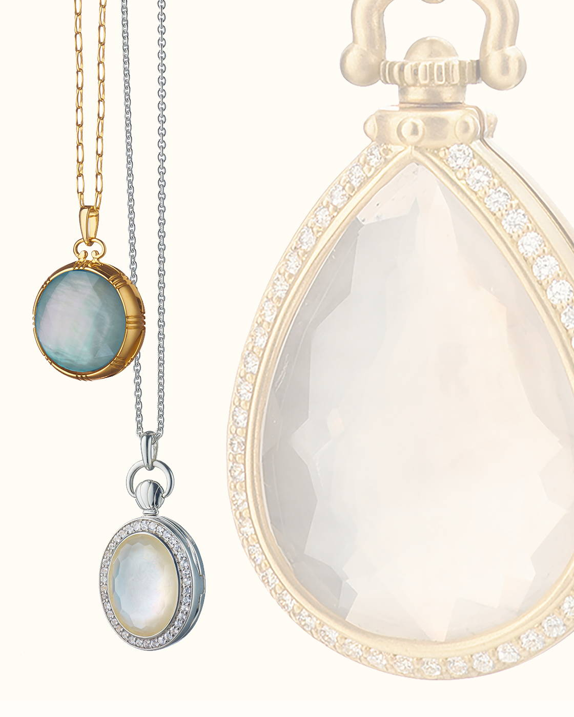 The Stone Locket Collection