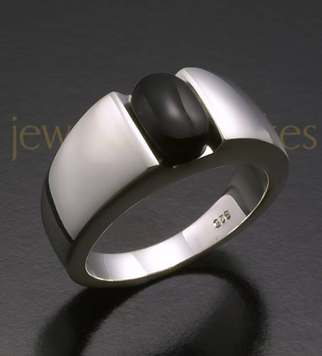 Women's White Gold Beguiling Cremation Ring