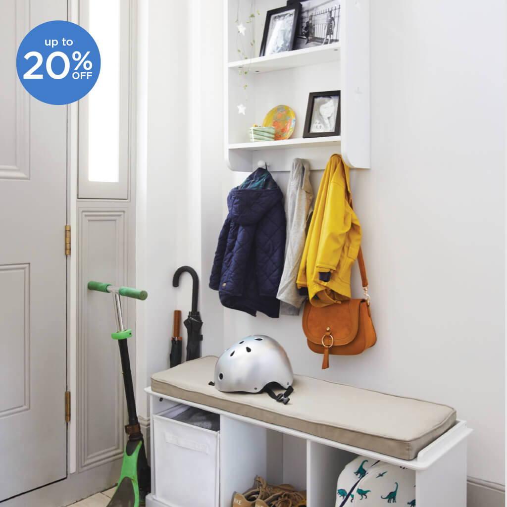 Hallway storage solutions